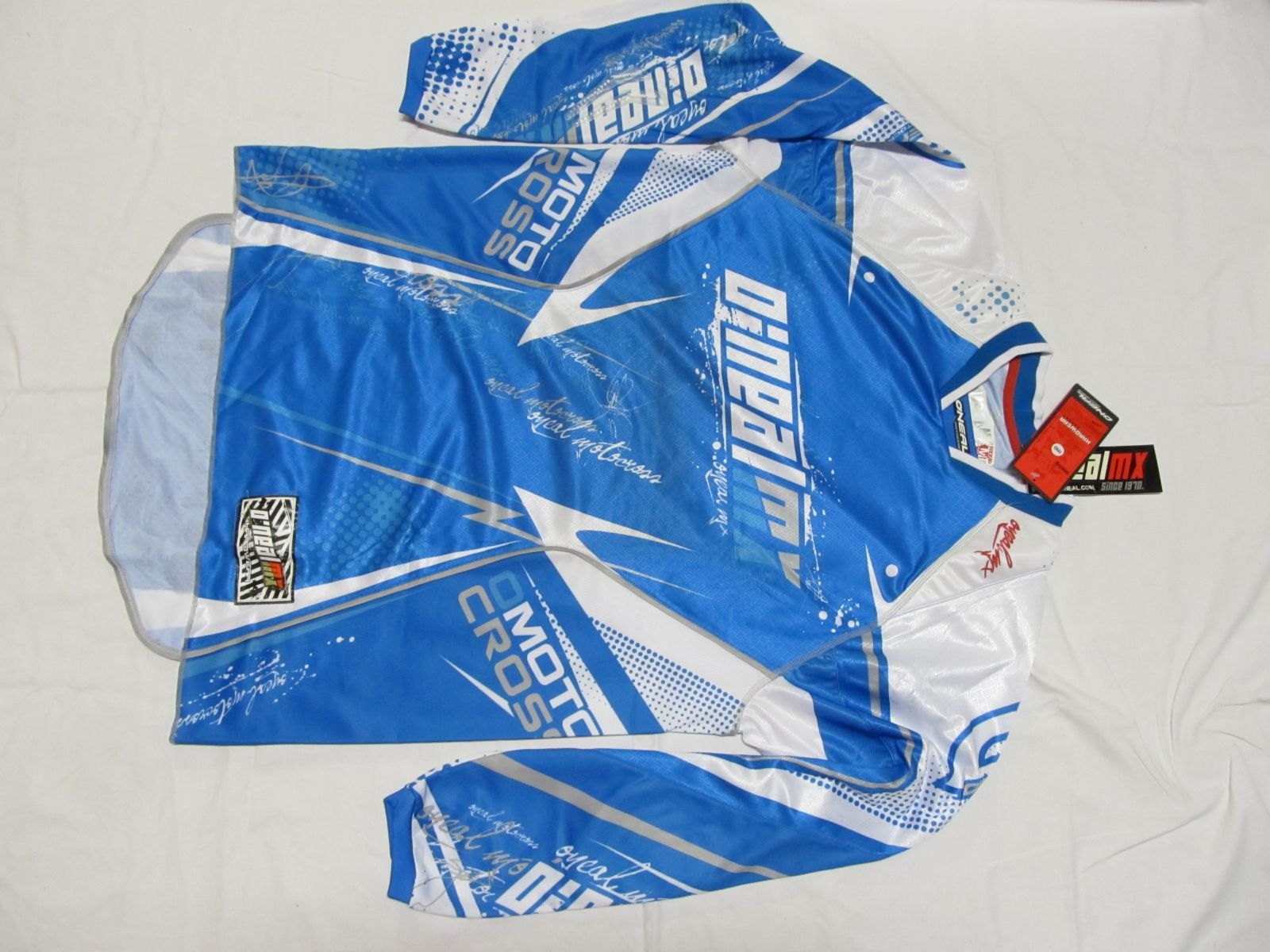 Dres Hardwear -Modrá/bílá ONEAL