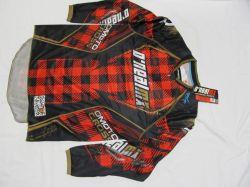 Dres  Hardwear PLAID-Černá/červená