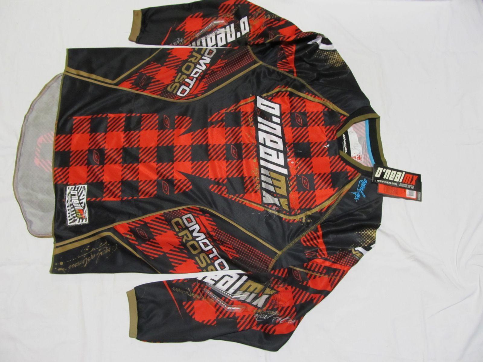 Dres Hardwear PLAID-Černá/červená ONEAL