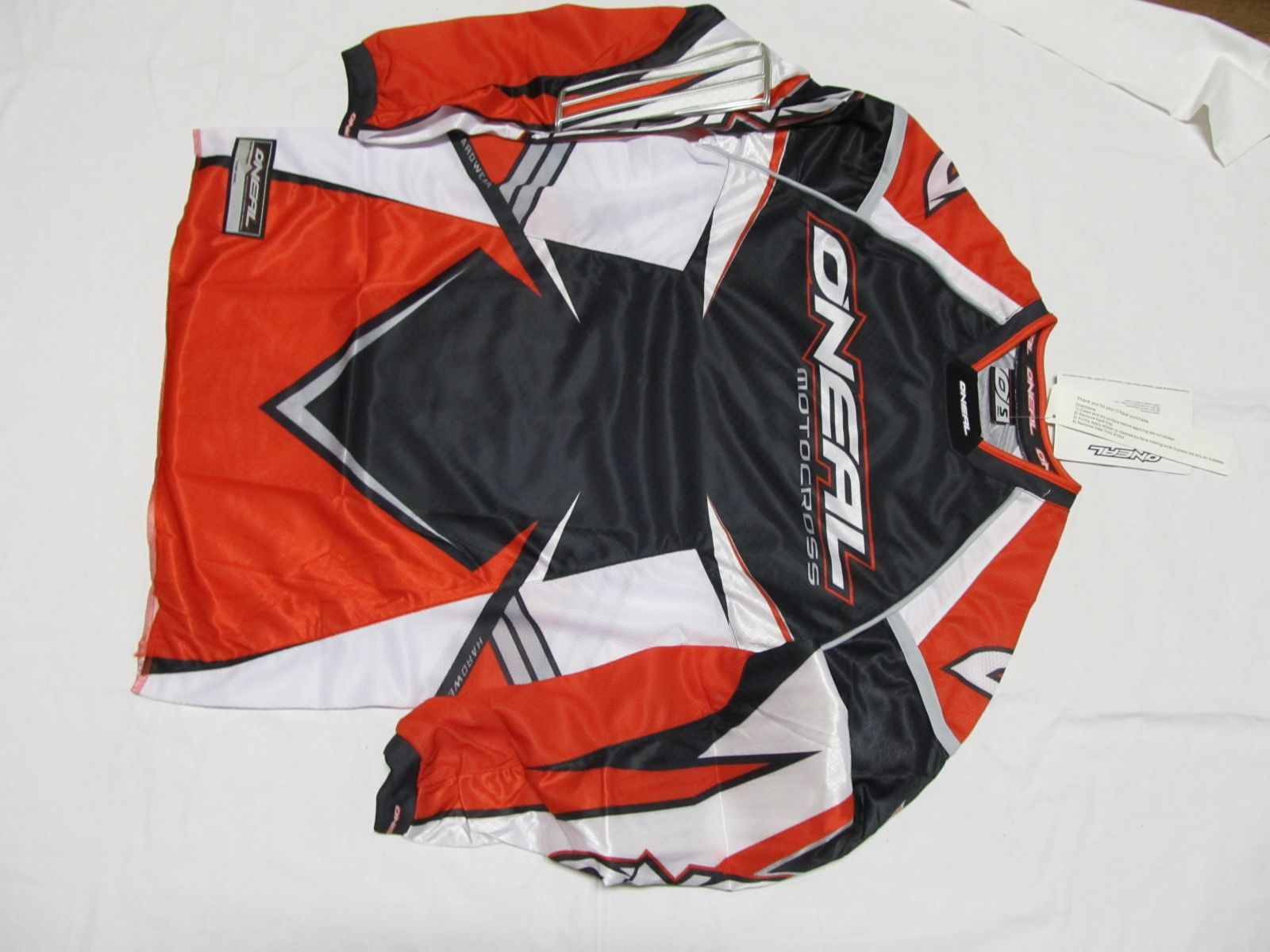 DRES ONEAL H/W BLK/RED/SILVER