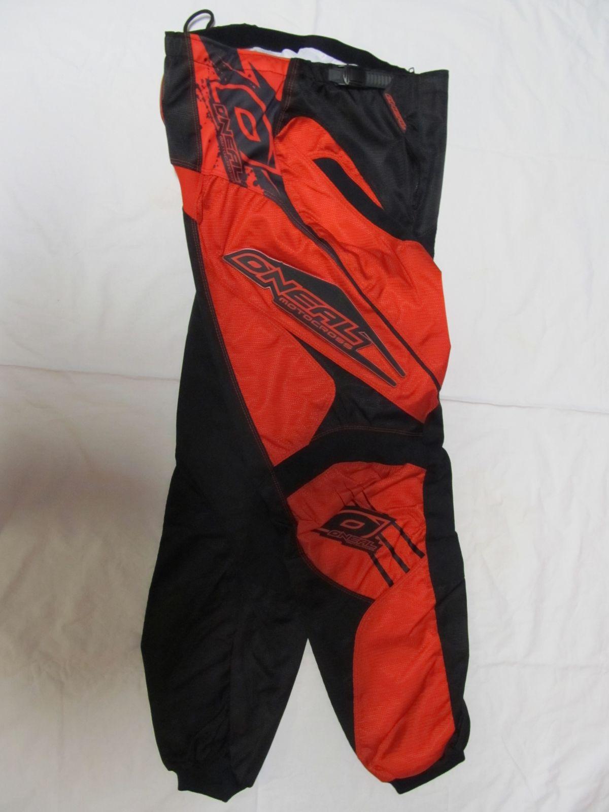 Kalhoty Element 2011 Červená ONEAL