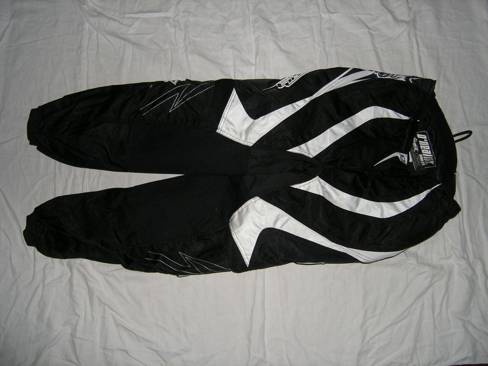 Kalhoty Element-Černá/bílá ONEAL