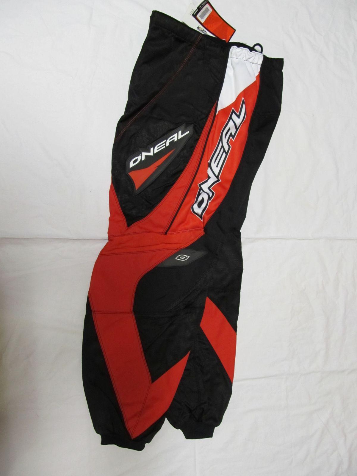 Kalhoty Element-Červená ONEAL