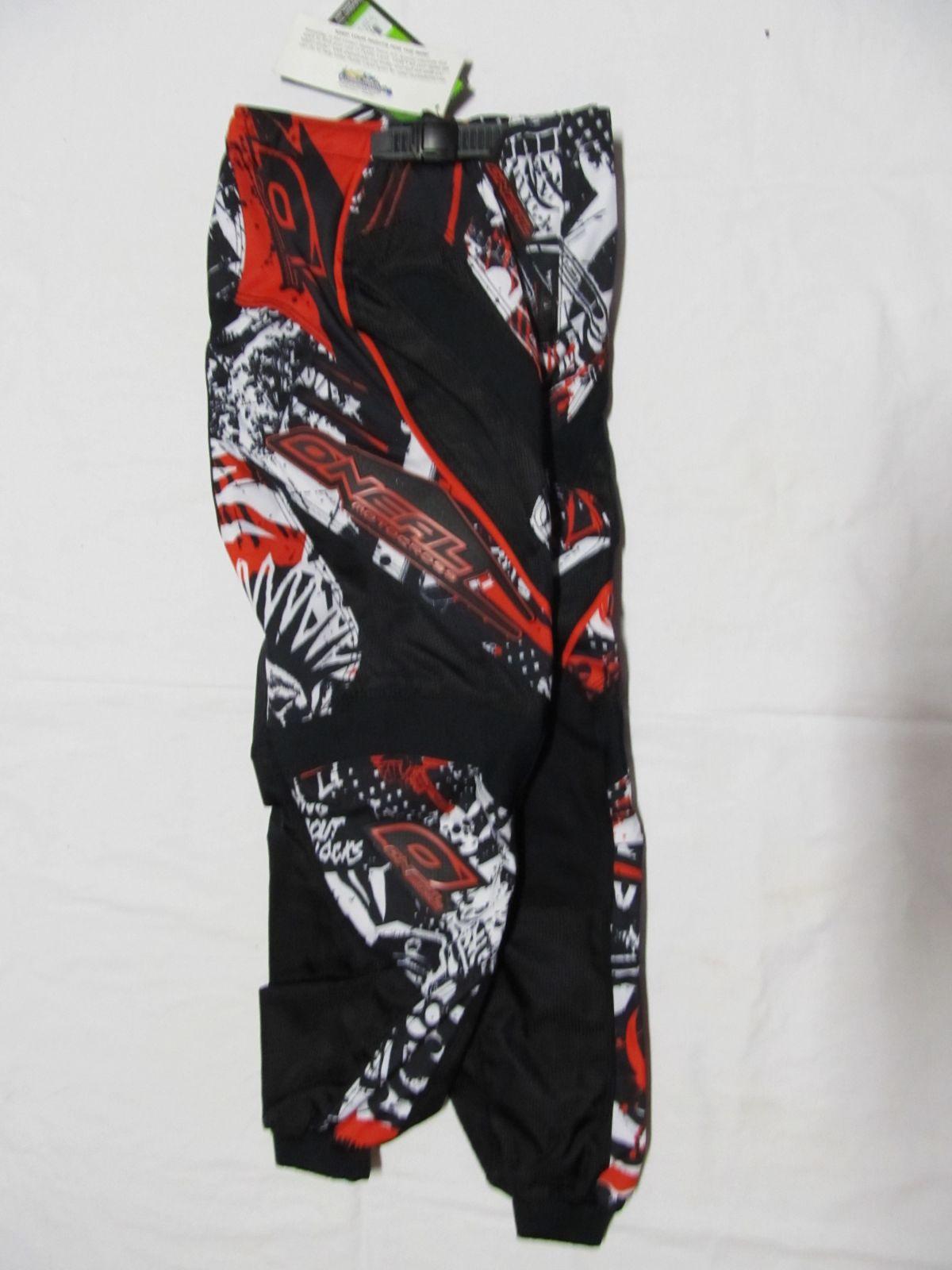 Kalhoty Element dětské 2011 red ONEAL