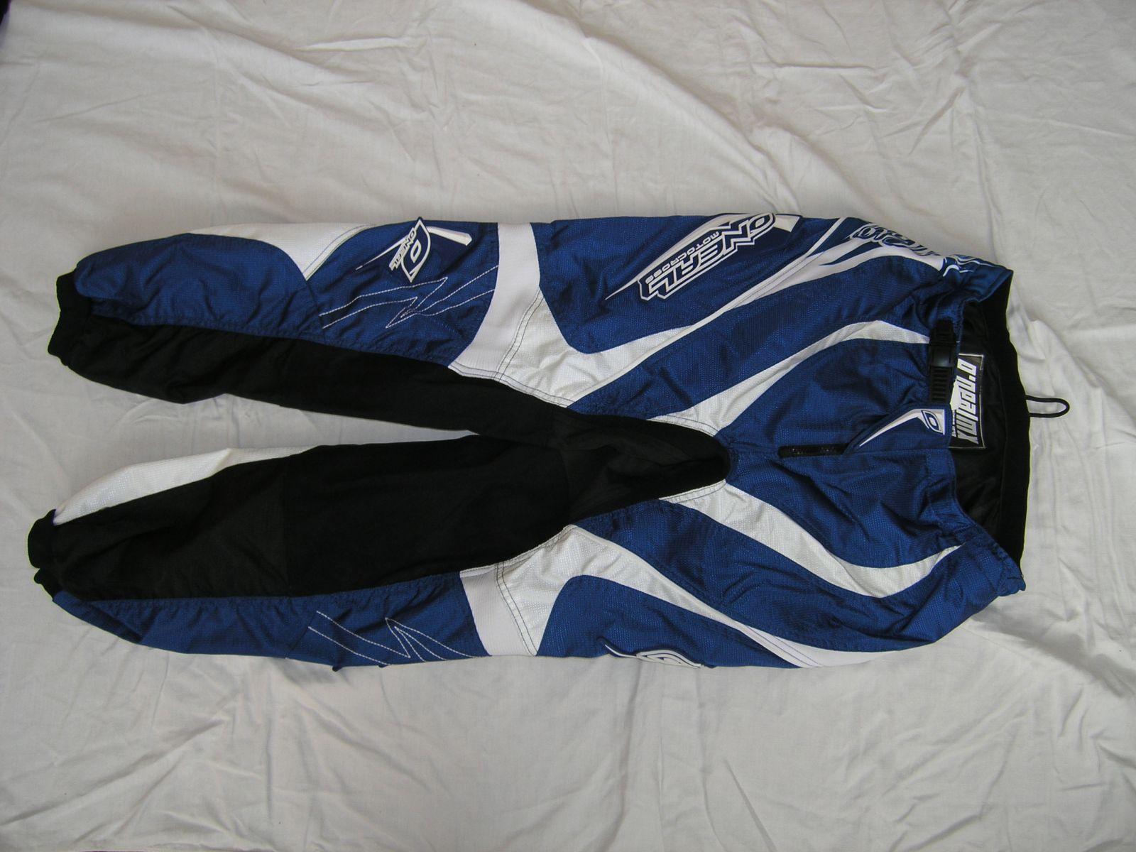 Kalhoty Element-Modrá/bílá ONEAL