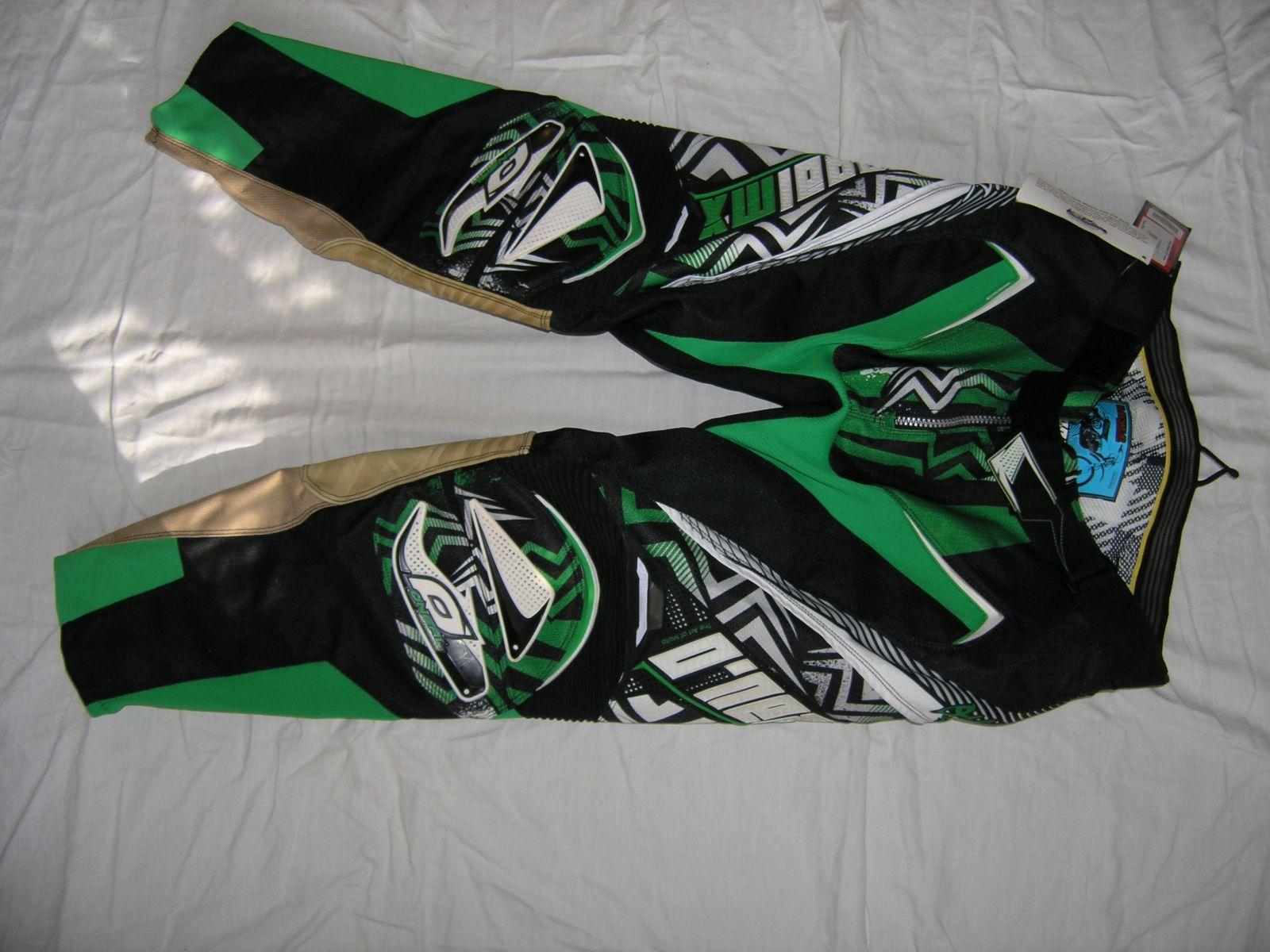 Kalhoty Hardwear 2011 Zelená ONEAL