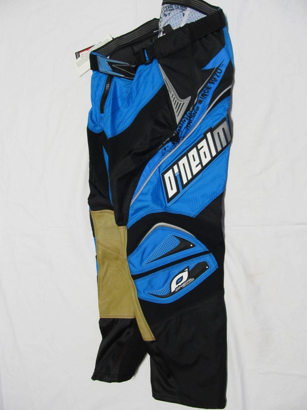 Kalhoty Hardwear-tyrkysová/černá ONEAL