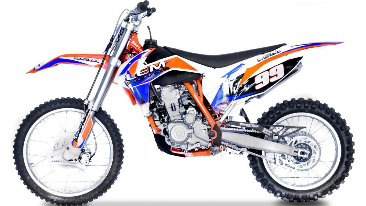 LEM 250CC PRO ORANŽOVÁ | cena_Prodejní LEM MOTOR