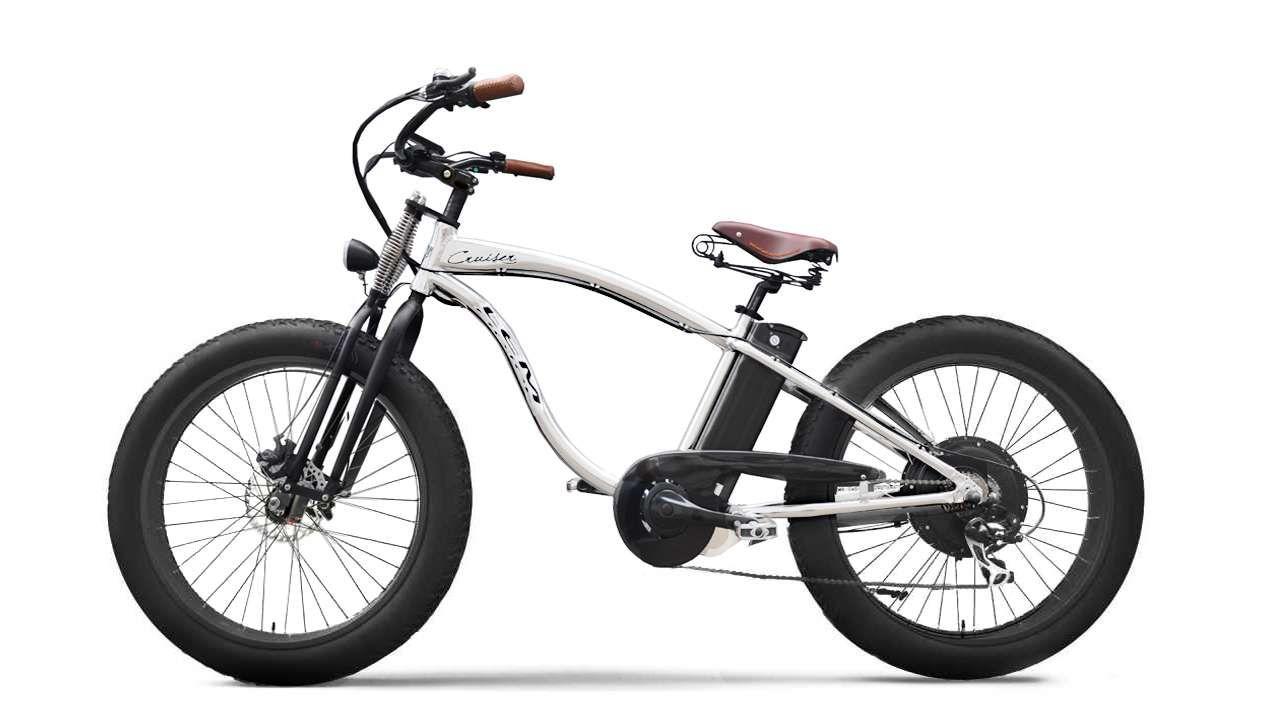 LEM CRUISER 500w 48V BÍLÁ | cena_Prodejní LEM MOTOR