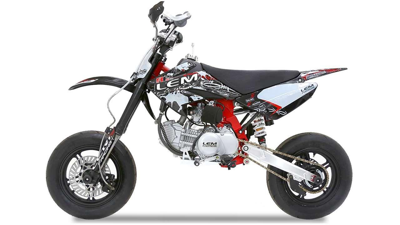 LEM MOTARD RF 160CC ČERNÁ | cena_Prodejní LEM MOTOR