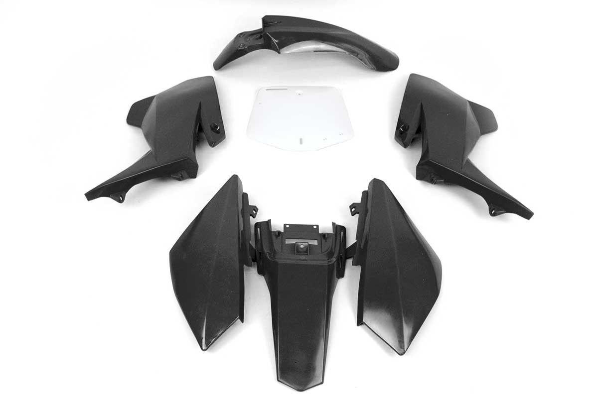 Plásticos Pitbike 2016 Negro | cena_Prodejní REBEL MASTER