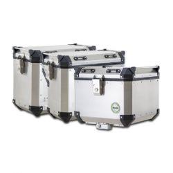 Horní  kufr 46L + boční kufry 42L + 36L hliníkové + boční nosiče pro 502X