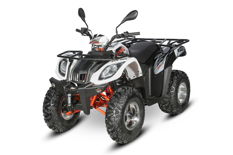 KEEWAY ATV GTS 220 T3B BÍLÁ | cena_Prodejní