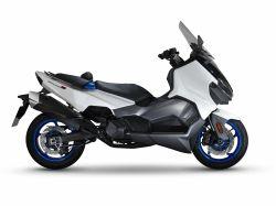 MAXSYM TL 500 - MATNÁ ČERNÁ BK-001UL - EURO 4 SANYANG MOTOR