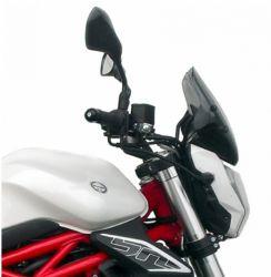 247A plexi kouř.univerzální,vxš=290X285mm pro montáž nutná sada dle motocyklu obj.samostat