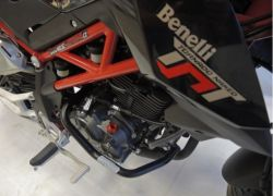 Crash frames Benelli TNT 125 black matt