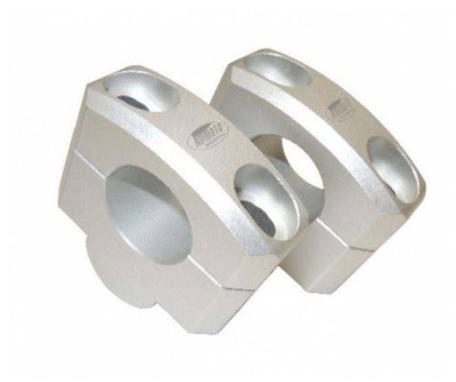 Zvýšení řídítek 20mm stříbrná