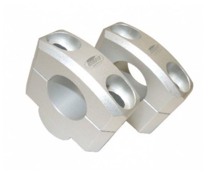 Zvýšení řídítek 25mm stříbrná