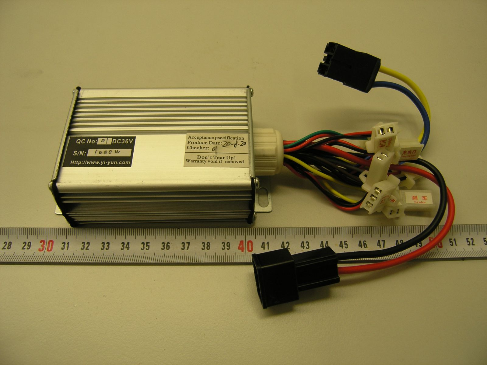 controller for 1000W